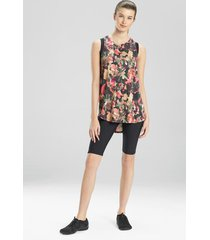 atleisure layering elements tank top shirt (moisture-wicking), women's, size l