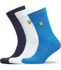 hamilton underwear socks regular socks blå lyle & scott