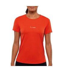 camiseta lupo básica poliamida feminina lupo vermelho