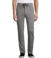 true religion men's drawstring pants - granite grey - size xl