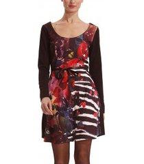 korte jurk desigual robe vest_liana 38v2100