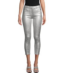 photo ready mid-rise capri jeans