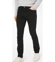 mk jeans slim-fit in cotone stretch - nero (nero) - michael kors