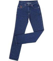 calça jeans docks tradicional masculina