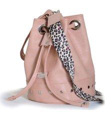 bolso baltimore rosa isabella cruz bags