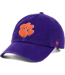 '47 brand clemson tigers ncaa clean-up cap