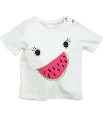 camiseta manga curta melancia blade and rose - branco - dafiti