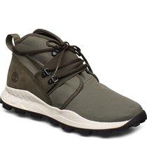 brooklyn l/f chukka låga sneakers grön timberland