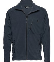 kleivane microfleece jacket sweat-shirt tröja blå skogstad