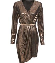abito elegante con cintura (oro) - bodyflirt boutique