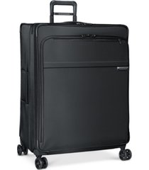 "briggs & riley baseline 31"" extra large softside check-in spinner"
