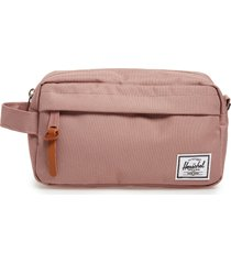 herschel supply co. chapter carry-on dopp kit, size one size - ash rose