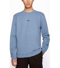 boss men's contrast-logo relaxed-fit sweatshirt