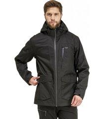 chaqueta tres cruces fusion-3 hoody negro lippi