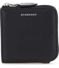 burberry meldon half zip around square wallet