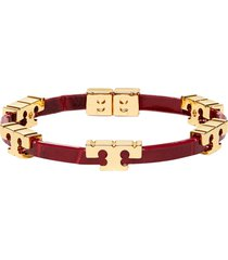 tory burch single bracelet with logo