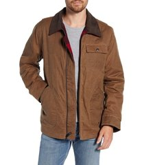 men's schott nyc waxed cotton field jacket