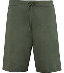 a.p.c. rene cotton shorts