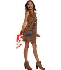 buyseasons women's star wars classic chewbacca dress adult costume