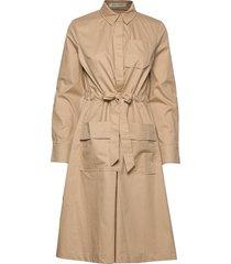 dress knälång klänning beige sofie schnoor