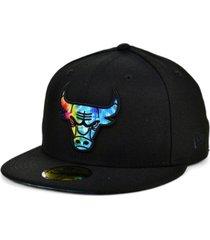 new era chicago bulls tie dye thread cap