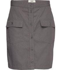 super work stjerna knälång kjol grå mads nørgaard