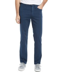 men's 34 heritage charisma relaxed fit straight leg jeans, size 34 x 34 - black