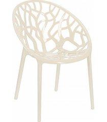 krzesło corail kość słoniowa