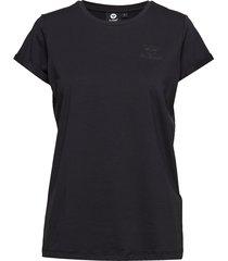 hmlisobella t-shirt s/s t-shirts & tops short-sleeved svart hummel