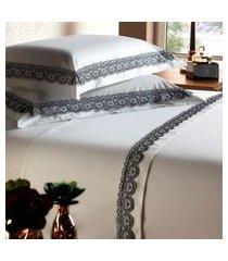 jogo de cama king plumasul london deep beauty 4 peças