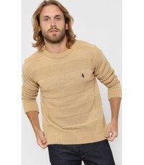 sweater camel polo label