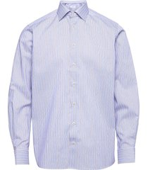 contemporary fit business twill shirt overhemd business roze eton