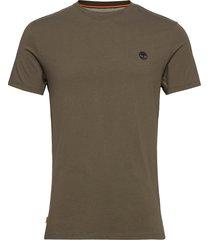 ss dun-river crew t t-shirts short-sleeved grön timberland