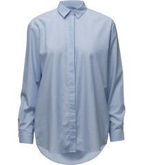 caico shirt 6135 långärmad skjorta blå samsøe samsøe