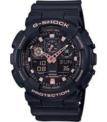 relógio analógico digital g-shock ga-100gbx-1a4dr