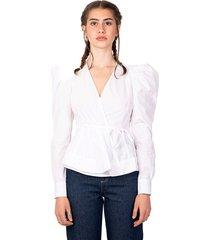 blouse croisée