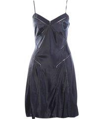 hart pailletten verfraaid zijden jurk