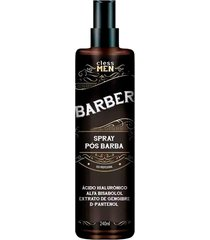 cless men barber spray pã³s barba 240ml - incolor - dafiti