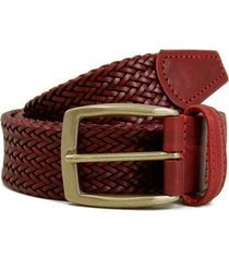 anderson's dark red leather belt a1716