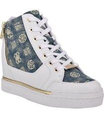 zapatilla footwear gwfigz-a whmll blanco guess