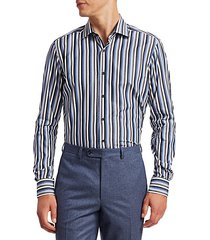 collection multi-color striped shirt