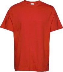 m. single jersey tee t-shirts short-sleeved röd filippa k
