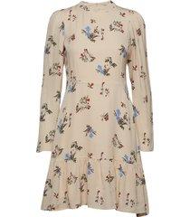 charlotte dress jurk knielengte crème twist & tango