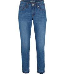 jeans cropped elasticizzati skinny (blu) - john baner jeanswear