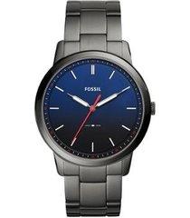 relógio fossil masculino the minimalist - fs5377/1cn fs5377/1cn