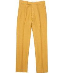 gibson london mustard radisson trousers g18142rt