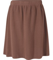 gonna svasata in maglia (marrone) - bpc bonprix collection