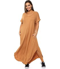 vestido camel vindaloo emma