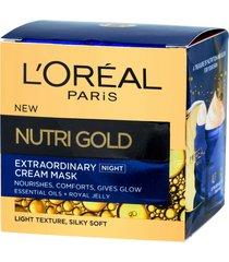 nutrigold night cream mask 50ml
