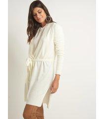 casaco le lis blanc fran medio tricot off white feminino (off white, gg)